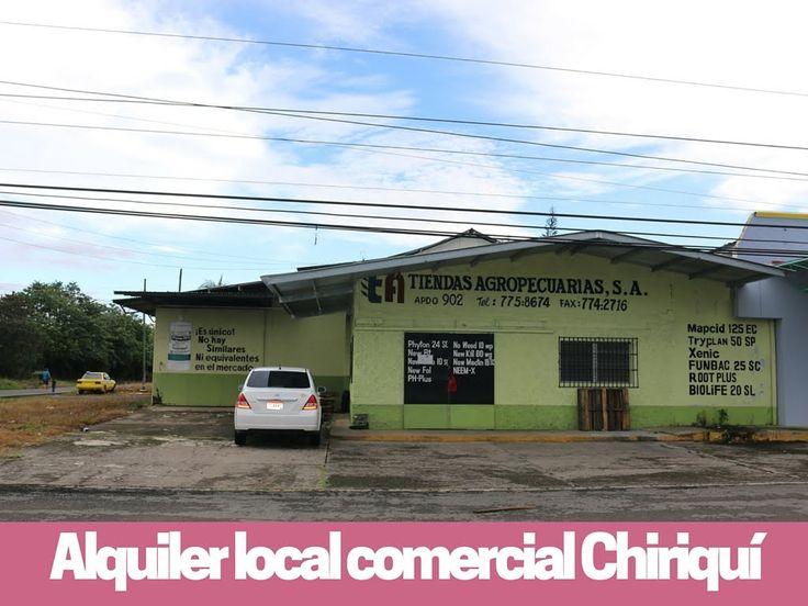 Alquiler de local comercial en esquina en esquina. Chiriqui Prestige Pan...