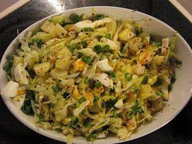 Enkel tyrkisk potetsalat  (Patates Salatası)