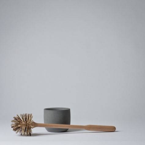 swedish made concrete toilet brush