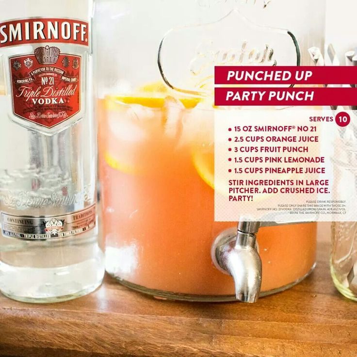 punch, pink lemonade, pineapple juice): Party Punches, Party'S, Drink ...