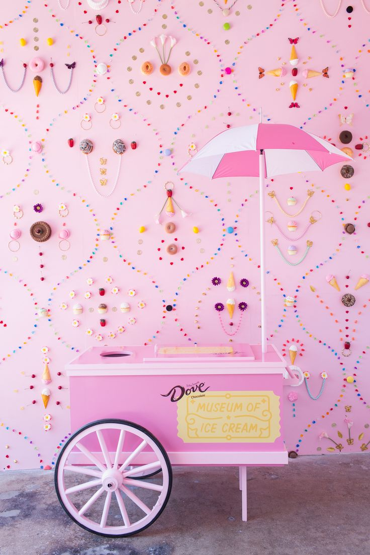 Museum of Ice Cream - L.A.   Take me there this minute.