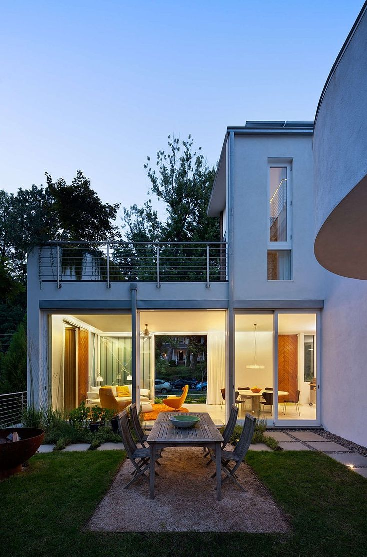 Chevy Chase Home by Meditch Murphey Architects