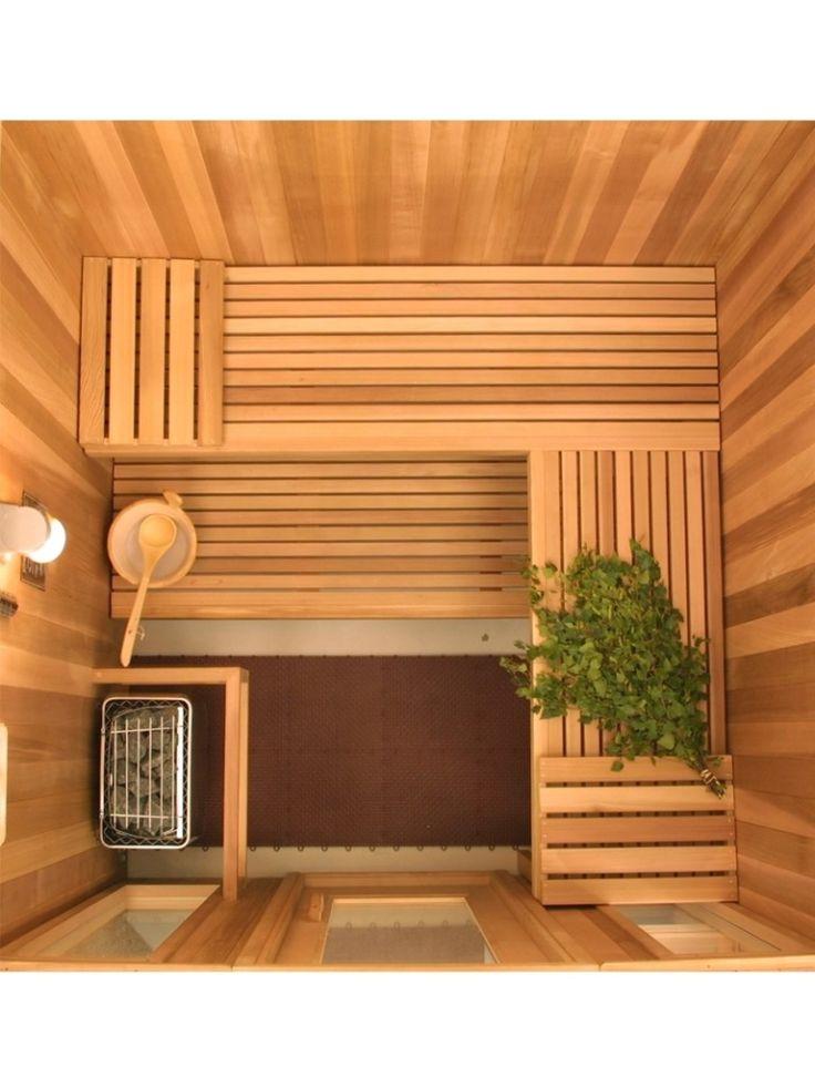 49 best sauna images on pinterest bathroom saunas and for Basement sauna kit
