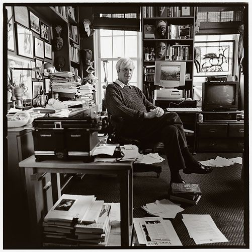 George Plimpton, legendary editor of The Paris Review-The Paris Review is always worth reading