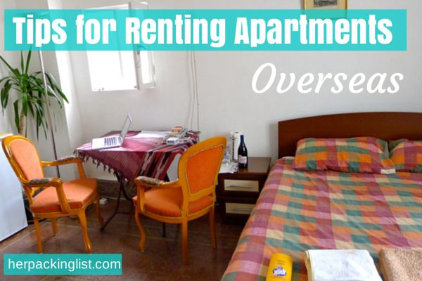 Tips for Renting Apartments Overseas