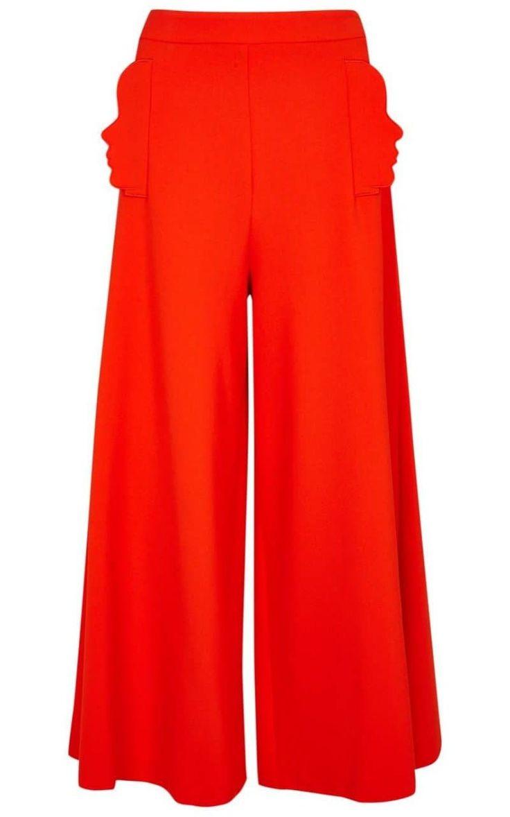 Vivetta Elefante coral wide-leg trousers,£375, Harvey Nichols