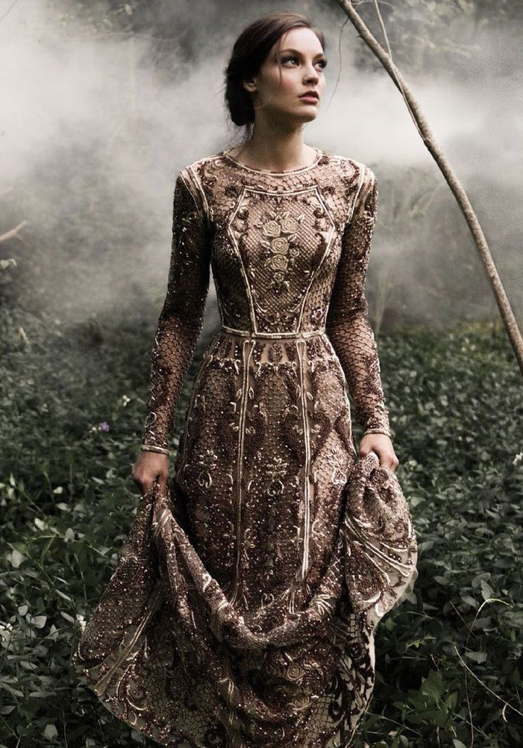 Byzantine beauty, fashion photograph.