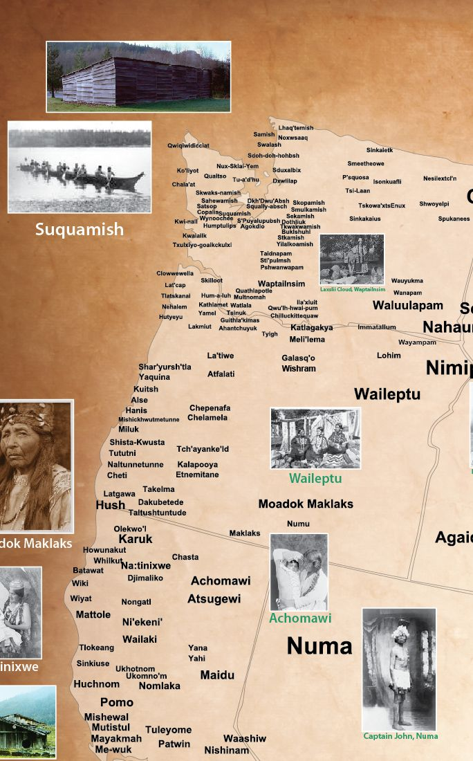 Tribal Nations Map Native American Heritage Month