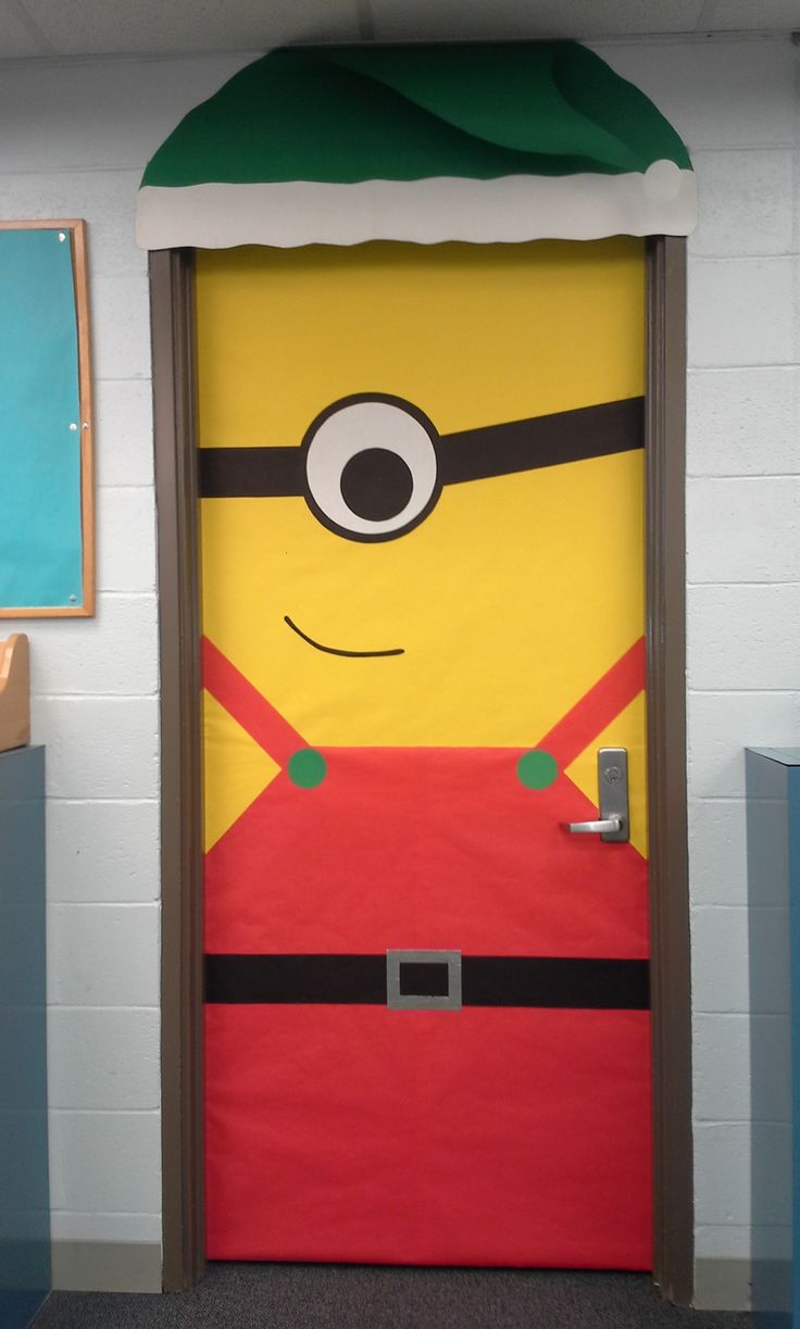 Minion Classroom Door Decor ~ Ideas about minion door decorations on pinterest