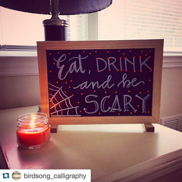 Best Chalk Art Halloween Ideas Images On Pinterest - Cool chalkboard halloween decor