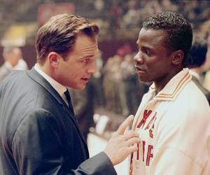 Glory Road: They're trying to take our dignity away from us. - Your dignity's inside you. Nobody can take something away from you you don't give them.