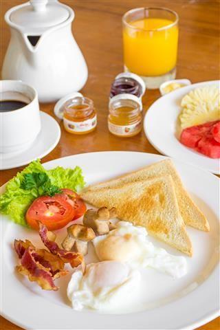 Bugis Breakfast - Poached Egg
