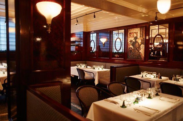 Bellanger French restaurant bar Islington north London