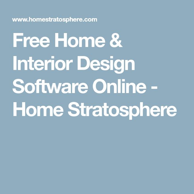 Free Home & Interior Design Software Online - Home Stratosphere