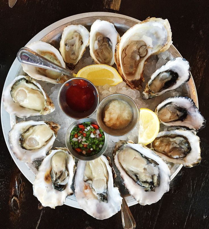 The Churchill, Beverly Grove, Wednesdays 4–10, $1 oysters with a selection of four varieties based on market availability
