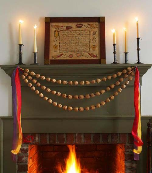 Pinterest the world s catalog of ideas for Christmas garland on fireplace