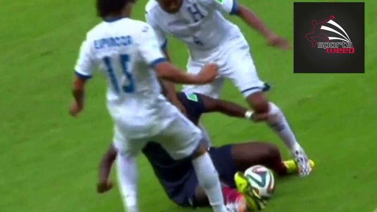 France Vs Honduras Highlights: Worst foul ever in World Cup 2014