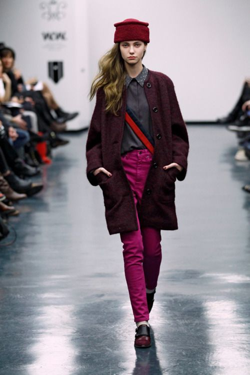 Wood Wood - AW 2012. Love the colors!