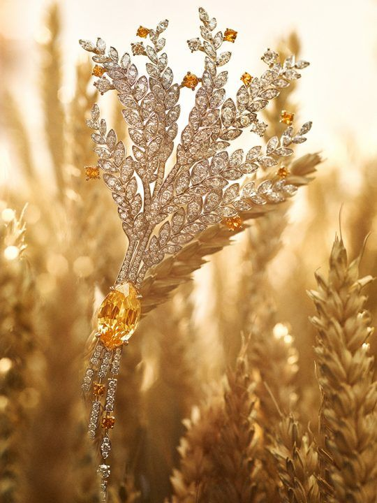 Les Blés de Chanel: Wheat-Inspired Jewelry