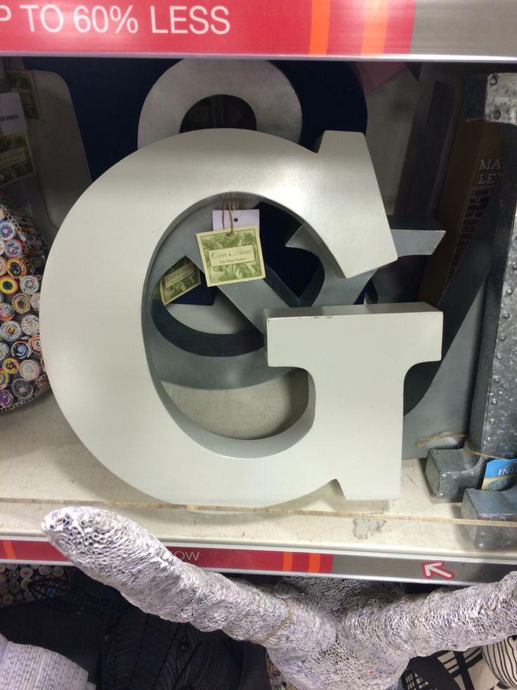 Letters Tk max