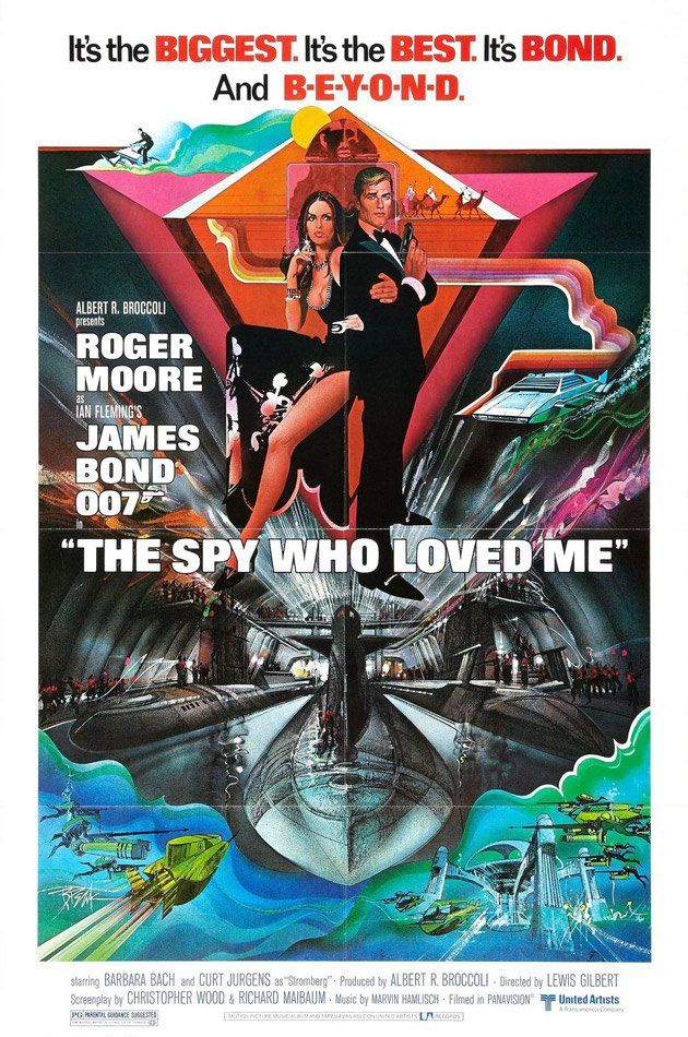 #10, Year: 1977,     Bond: Roger Moore,    Bond Girl: Barbara Bach
