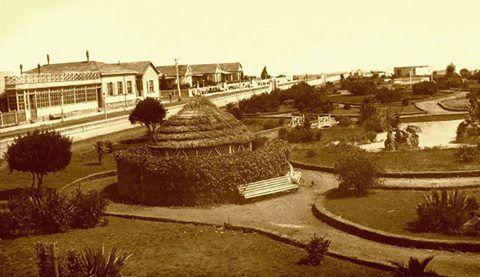 Parque y Hotel Ross , Pichilemu 1910