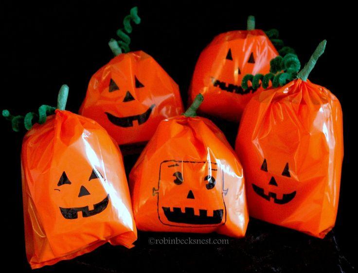 The Robin Nest Easy Kids Adult Pumpkin Craft