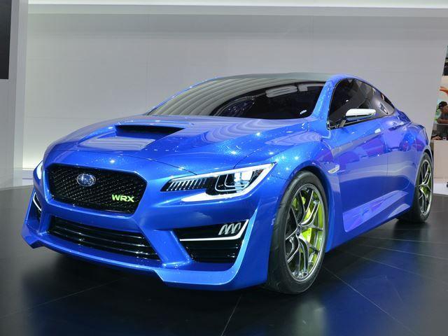 Subaru Confirms WRX STI is Coming to Detroit