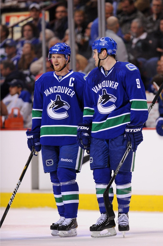 zack kassian and henrik sedin never thought he would be on first line of the