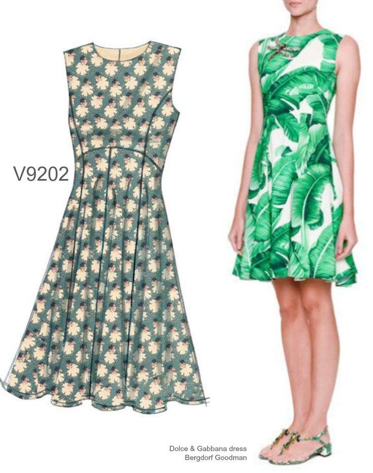 Sew the Look: Vogue Patterns V9202 dress pattern