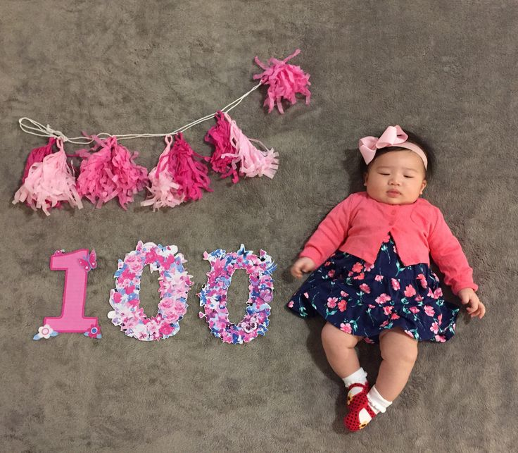 baby at 100 days ideas