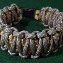 how to make a paracord bracelet with a side release buckle