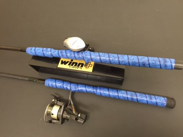 17 best images about fishing superior rod wrap on for Fishing rod handle wrap