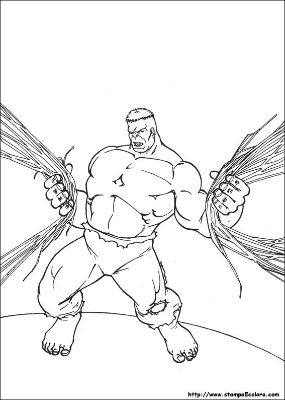 Hulk Coloring Page 50 Is A From BookLet Your Children Express Their Imagination When They Color The