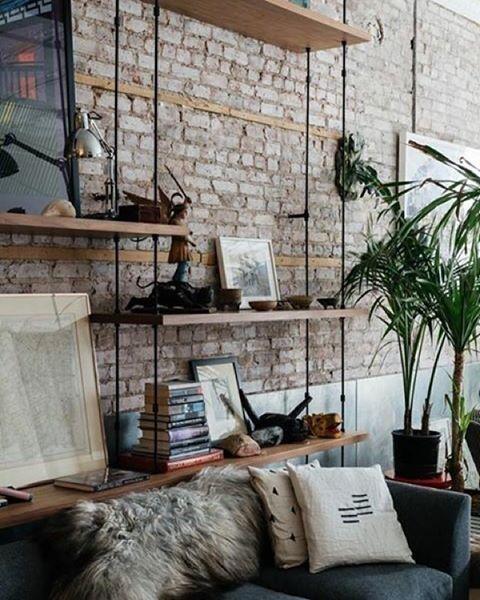 Fantastiskt snygga hyllor  Det blir definitivt till nästa lägenhet. Tagga någon som borde ha de här hemma! Credit:unknown