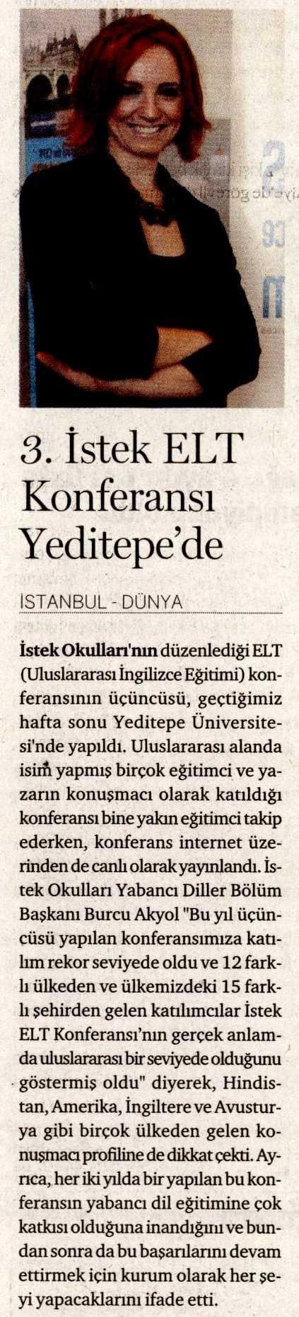 3 Mayıs 2013 / Dünya Gazetesi