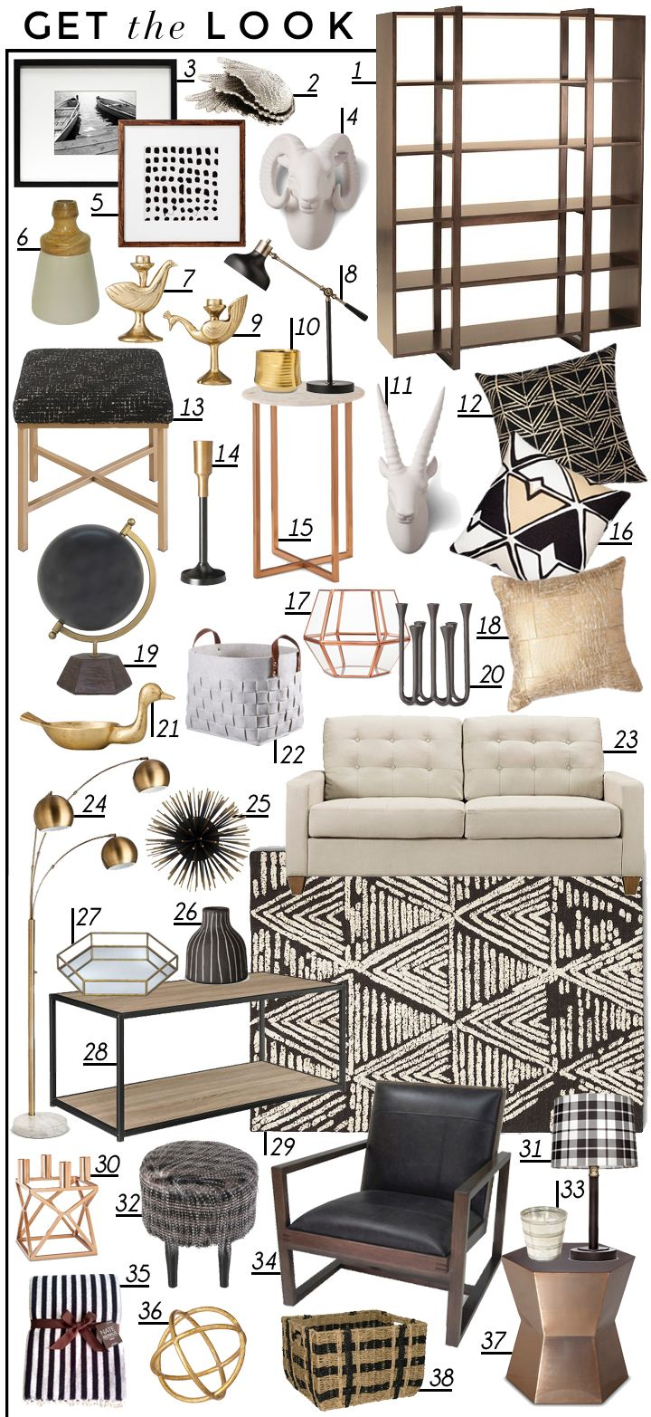 Bold Styling With Safe Neutrals (and Target) - Emily Henderson