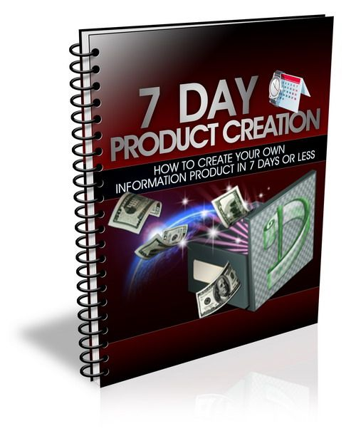 """Finally! Discover How To Create Your Very Own Hot Selling Information Product In The Next 7 Days or Less... Even If You're a Complete Newbie!"" 5.00 leave comment if interested"