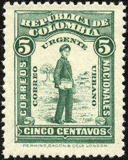 Colombia 1917 Scott E1