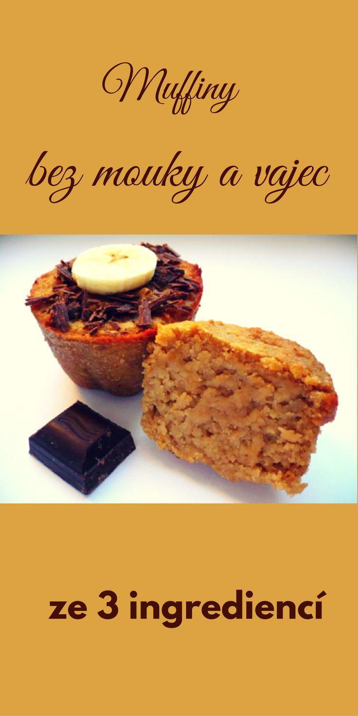 Bezlepkové vegan muffiny ze 3 ingrediencí (scheduled via http://www.tailwindapp.com?utm_source=pinterest&utm_medium=twpin&utm_content=post112100947&utm_campaign=scheduler_attribution)