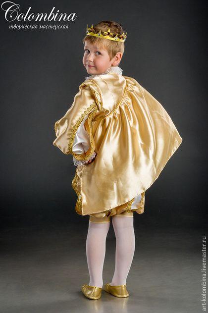 Купить или заказать Костюм принца в интернет-магазине на Ярмарке Мастеров. комплектация: колет, панталоны, плащ, корона 134-146 +400…
