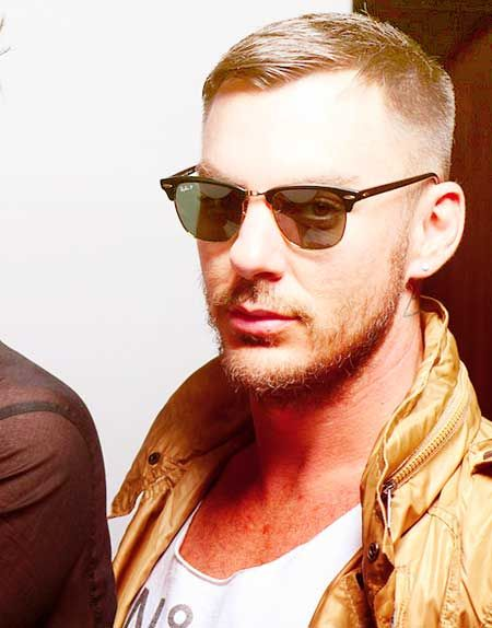 Trendy men short haircuts