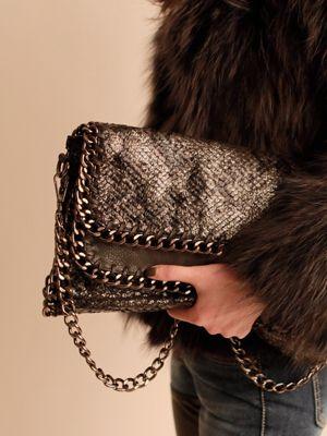 Korea feminine clothing Store [SOIR] Double Chain Clutch bag / Price : 68.02USD #soir #feminine #lovely #bag #leatherbag #luxury  #Partylook