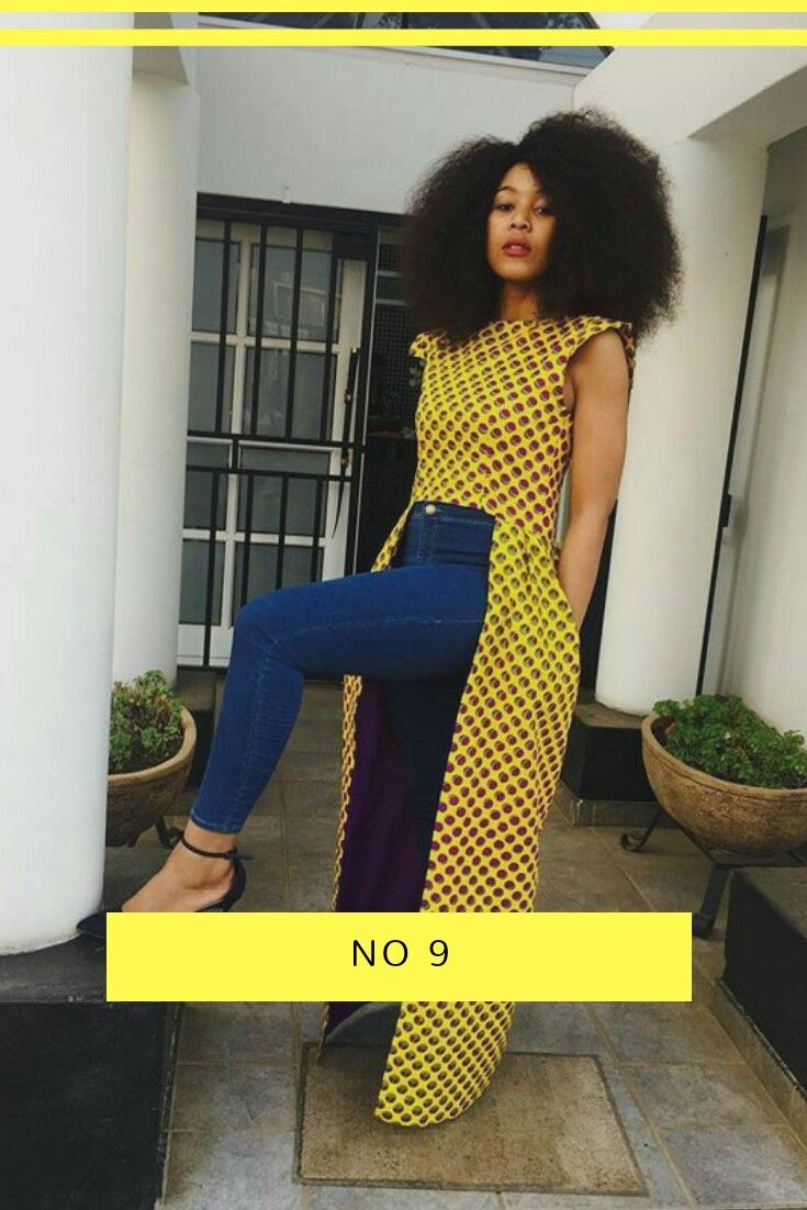 No. 9 goes to this amazing looking dress, looking amazing on jeans and Afro.