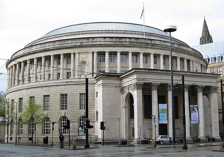 Manchester Central Library. Ready to reopen in March 2014