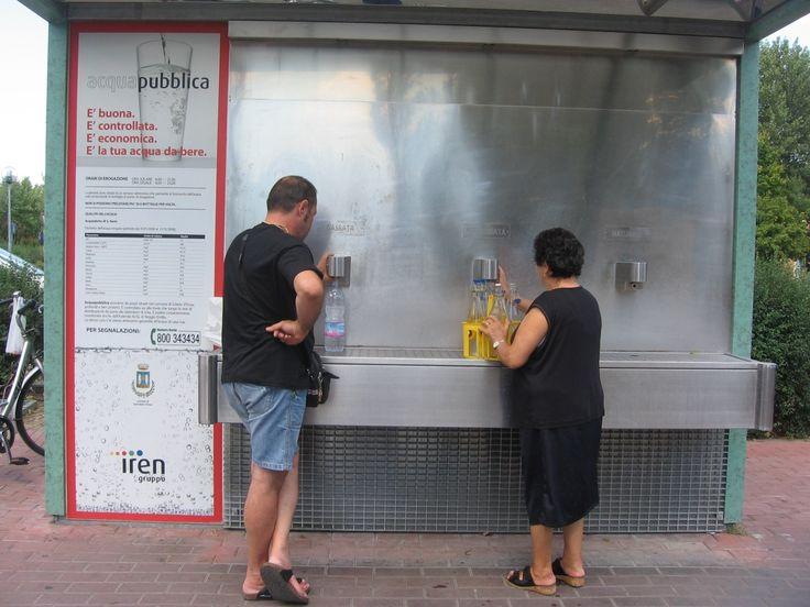 Inaugurazione distributore acqua potabile - .:. COMUNE DI AGAZZANO (PC) .:.