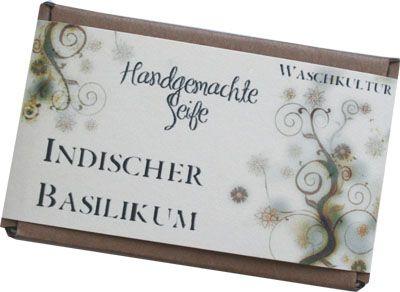 Kräuterseife Indischer Basilikum Seitenrezept bei Waschkultur.de http://www.waschkultur.de/kraeuter/kraeuter/indischerbasilikum.htm