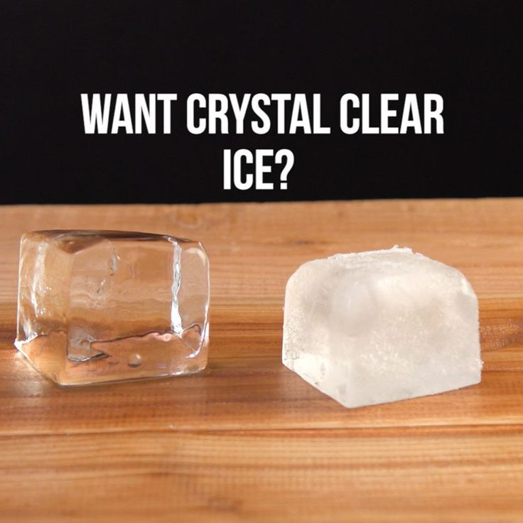 How to make crystal clear cocktail ice at home recipe