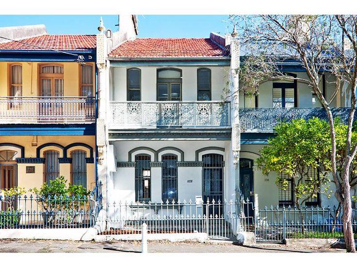 paddington sydney terraced houses   Sydney houses   Pinterest   Sydney and  House
