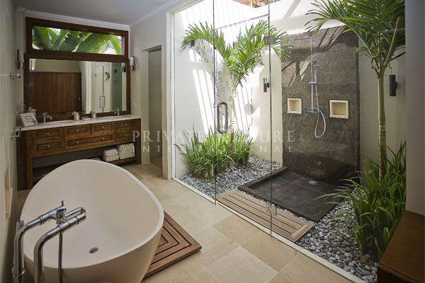salle de bain nature!
